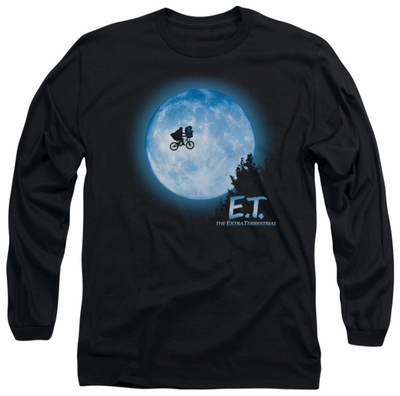 Long Sleeve: E.T. The Extra Terrestrial - E.T. Moon Scene T-shirts