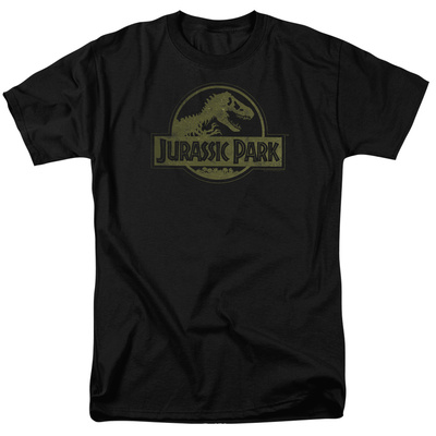 Jurassic Park – Distressed Logo T-Shirt