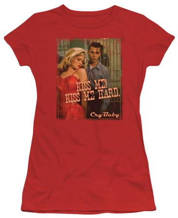 Juniors: Cry Baby - Kiss Me! T-Shirt