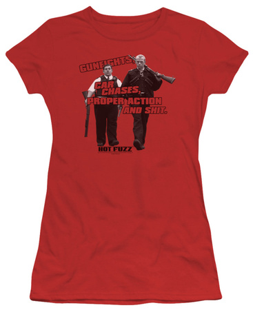 Juniors: Hot Fuzz - Days Work T-Shirt