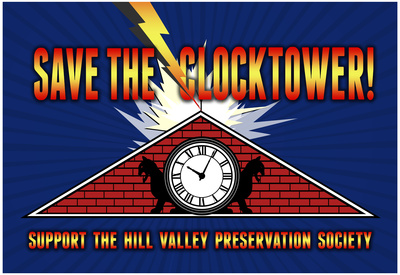 Save the Clocktower Back to the Future Day celebration Hill Valley