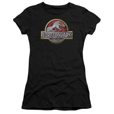 Juniors: Jurassic Park - Jurassic Park Logo T-Shirt