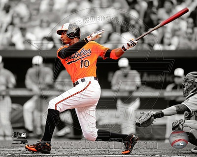 Adam Jones 2012 Spotlight Action Photo