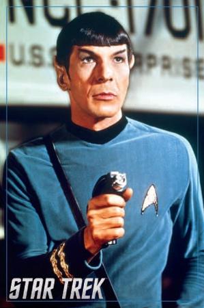 Star Trek- Spock Posters