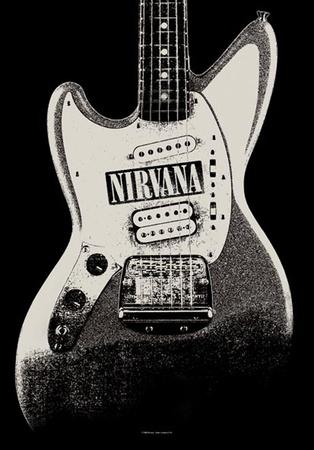 Nirvana - Guitar Prints