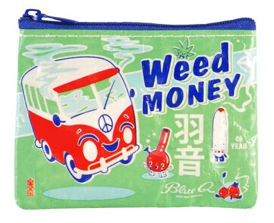 Weed Money Coin Purse Portmonnä