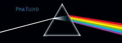 Pink Floyd - Dark Side of the Moon Door Flag Kunstdrucke