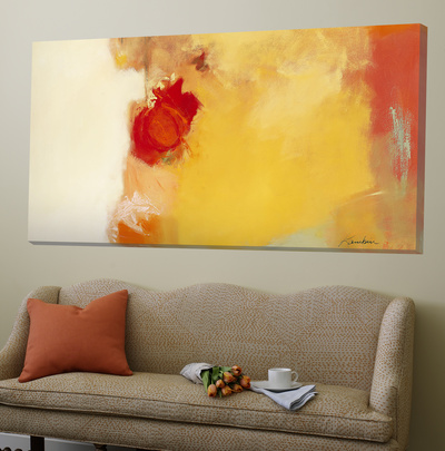 Red Note Prints by Diane Lambin