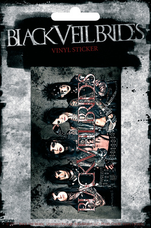 Black Veil Brides Vinyl Stickers Pegatinas