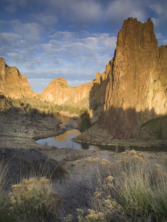 Smith Rock Is Located in the Central Oregon High Desert Near the Towns of Redmond and Terrebonne Photographic Print by Sean Bagshaw