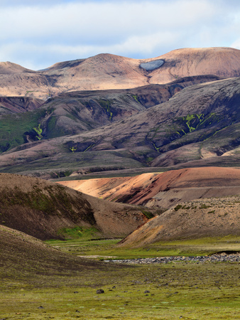 Mountain Vista, Iceland Photographic Print by Adam Jones