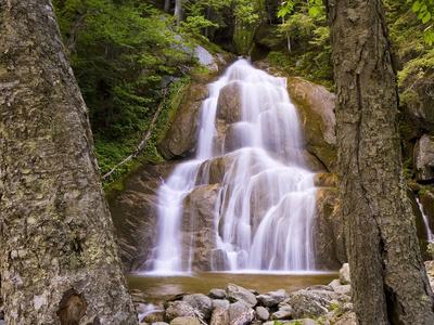 Moss Glen Falls, Granville, Vermont, USA Photographic Print by Gustav Verderber