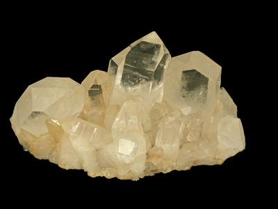 Quartz Crystals, Hot Springs, Arkansas, USA, Specimen Courtesy Jmu Mineral Museum Photographic Print by  Scientifica