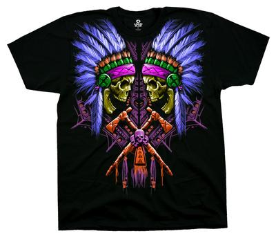 Neon Faceoff T-Shirt