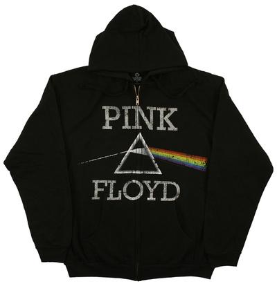Zip Hoodie: Pink Floyd - Dark Side Classic Zip Hoodie