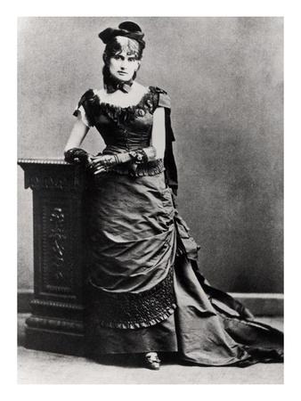 Berthe Morisot (1841-95) (B/W Photo) Premium Giclee Print by  French