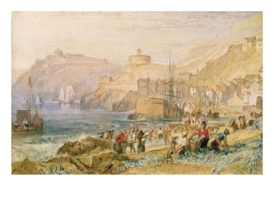 St. Mawes, Cornwall, C.1823 (W/C on Paper) Giclee Print by J. M. W. Turner
