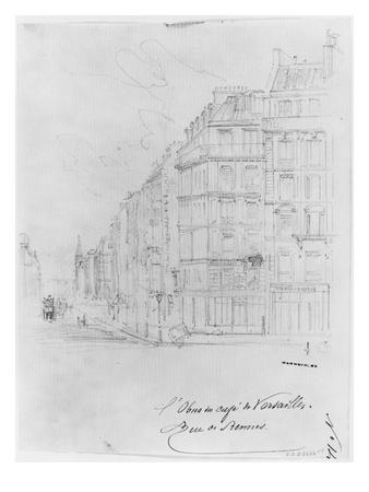 Album of the Siege of Paris, Shell of Cafe De Versailles, Rue De Rennes Premium Giclee Print by Gustave Doré