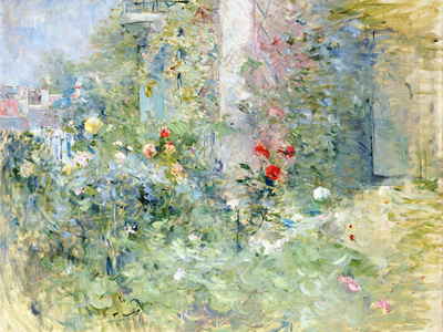 The Garden at Bougival, 1884 Premium Giclee Print by Berthe Morisot