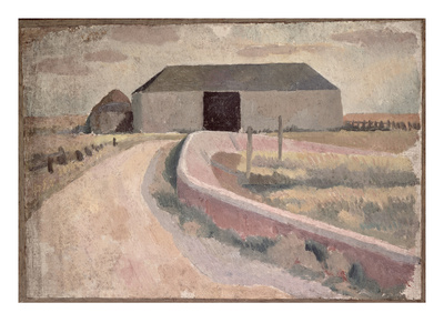 The Barn Premium Giclee Print by Roger Eliot Fry