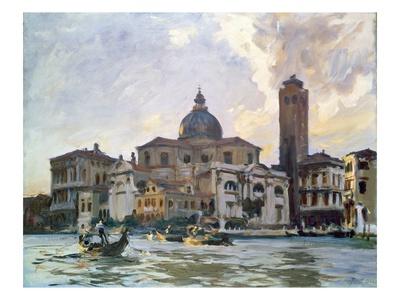 Palazzo Labia, Venice Premium Giclee Print by John Singer Sargent