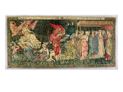Passing of Venus, Designed in 1901 and Woven in 1926 (Wool, Silk and Linen Tapestry) Premium Giclee Print by Edward Burne-Jones