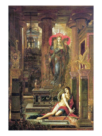 Orestes and the Erinyes, 1891 Giclee Print by Gustave Moreau