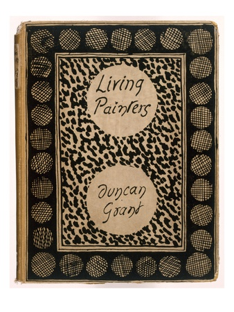 Book Jacket of 'Living Painters' by Duncan Grant, 1923 (Litho) Premium Giclee Print by Roger Eliot Fry