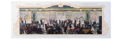 Advertisement for the Opening of New Buildings at the Parisian Department Store 'Printemps', 1910 Giclee Print by  French