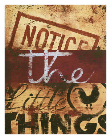 Notice The Little Things Giclee Print by Rodney White