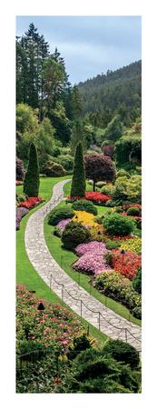 Butchart Gardens, Victoria, British Columbia Art by Jeff Maihara