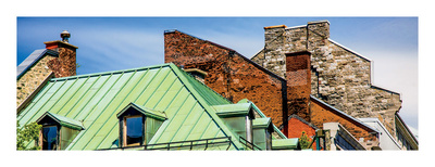 Rooftops, Old Montréal, Quebec Prints by Jeff Maihara