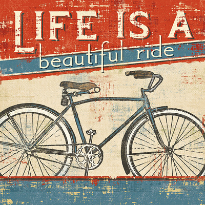 Beautiful Ride I Print by  Pela