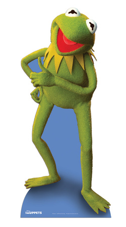 Kermit the Frog Cardboard Cutouts
