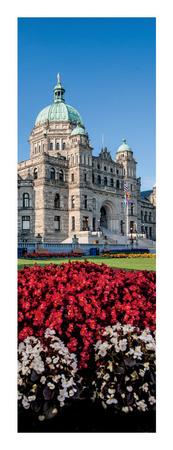 Parliament Buildings, Victoria, British Columbia Art by Jeff Maihara
