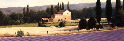 Lavender Fields Panel II Poster by James Wiens