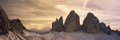 Clouds over Mountains, Dolomites, Italy Photographic Print by  Panoramic Images