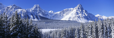 Banff National Park Alberta Canada Fotografisk tryk af Panoramic Images,