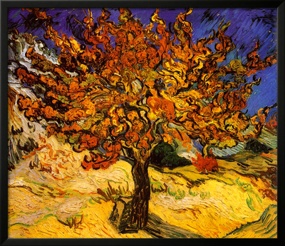 The Mulberry Tree, c. 1889 Print by Vincent van Gogh
