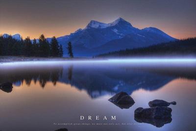 Dream - Mountains Landscape Pósters