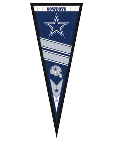 Dallas Cowboys Pennant Framed Memorabilia