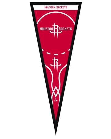 Houston Rockets Pennant Framed Memorabilia
