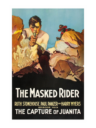 The Masked Rider - the Capture of Juanita Prints