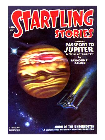 Passport to Jupiter Poster