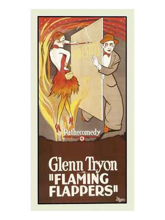 Flaming Flappers Prints by  Pathecomedy
