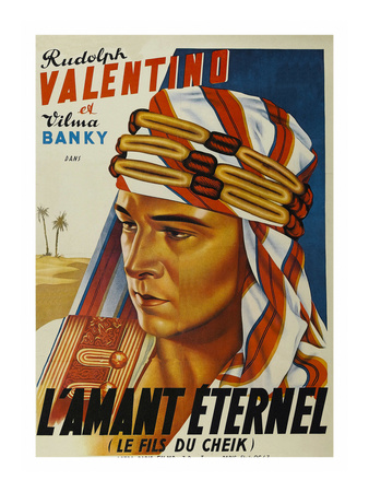 """Son of the Sheik """"L'Amant Eternel"""" Posters"""