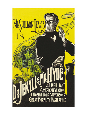 Dr. Jekyll and Mr. Hyde Art
