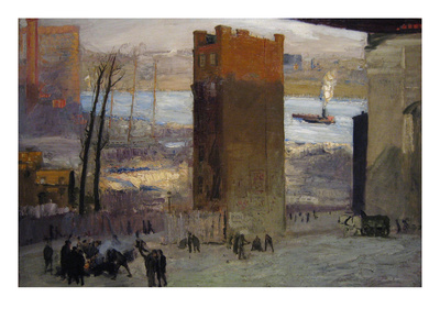 The Lone Tenement Prints by George Bellows