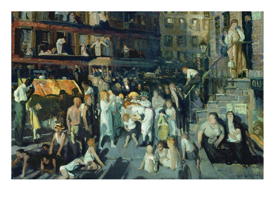 Cliff Dwellers Prints by George Bellows