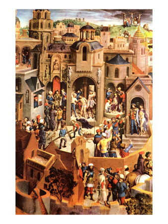 The Passion of Christ Posters by Hans Memling